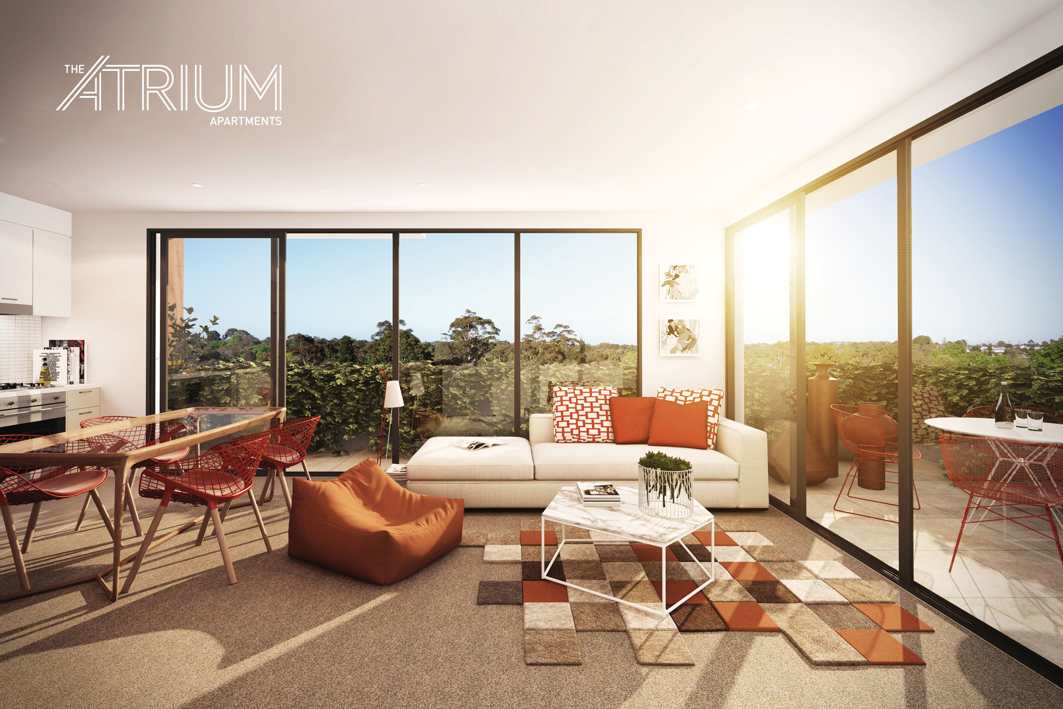 The Atrium Apartments